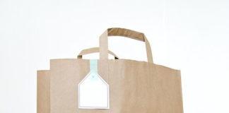 ekologiczna torba papierowa