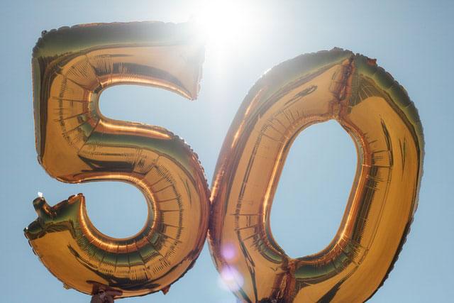 50-letnia rocznica biznesu